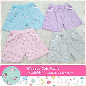 CBB46 Glasses Cats Pants