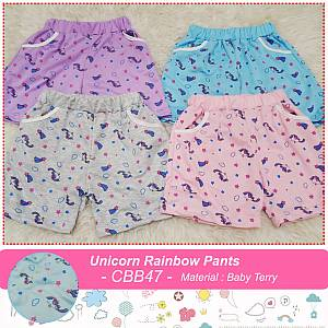 CBB47 Unicorn Rainbow Pants