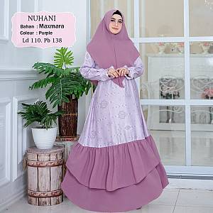 1). Tk Syar i Maxmara Nuhani Purple