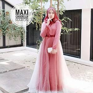 TK1 Maxi Cinderella Maroon