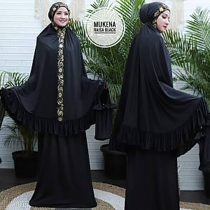 1). TK1 Mukena Raisa Black
