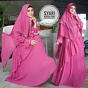 TK1 Syari Keysia Pink