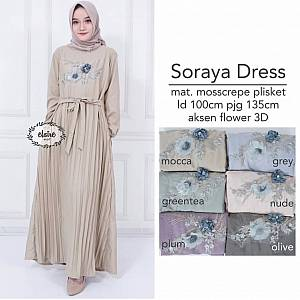Soraya Dress Mocca