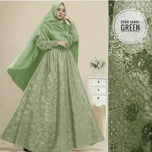 1). TK1 Syari sanny Green