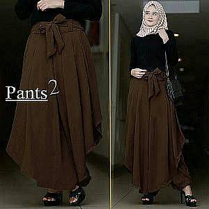 SALE Tk Pant Agoest Coklat