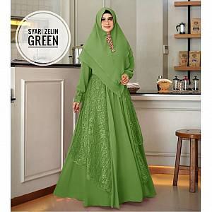 TK1 Syari Zelin Green