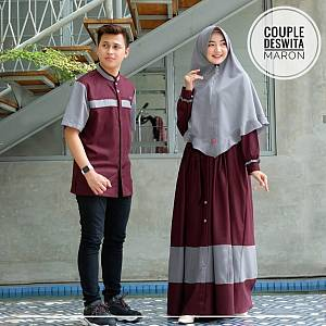 TK1 Couple Deswita Maroon