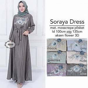 Soraya Dress Olive