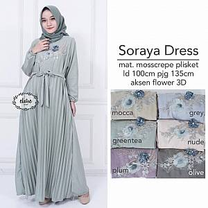 Soraya Dress GreenTea