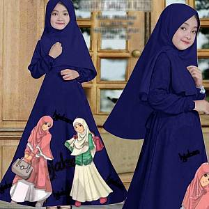 46-Hijabers kids Navy