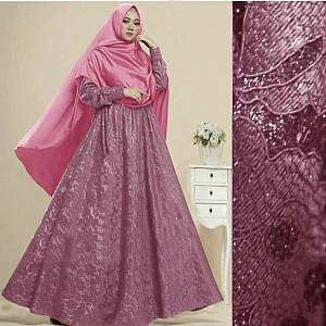 1). TK1 Syari sanny Pink