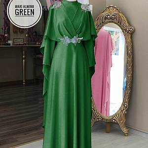 TK1 Maxi Almina Green