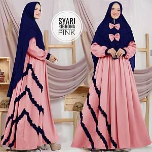 TK1 Syari Ribbona Pink