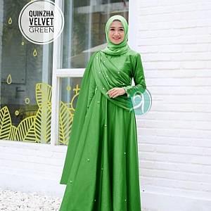 1). TK1 Quinzha Velvet Green