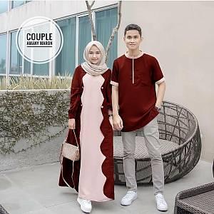 TK1 Couple Amany Maroon