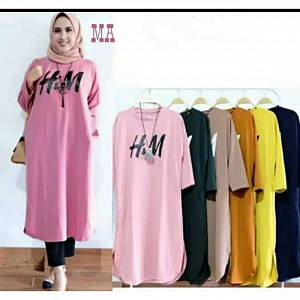H&M Tunik Dusty