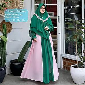 Tk Syari Ceruty Salwa Green