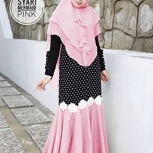 TK1 Syari Mermaid Pink