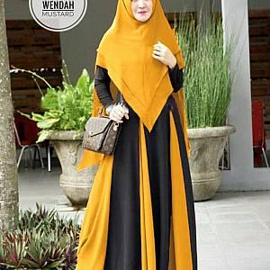 TK1 Syari Wendah Mustard