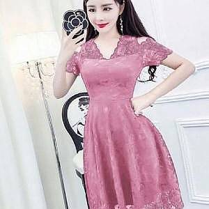 1). LVR.8 DRESS HANIN PINK