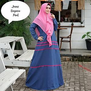1). Tk Syar i Jeans Dayuza Pink