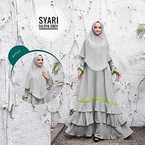 TK1 Syari Faloya Grey