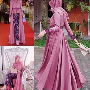 LVR SET Mafaza Dusty Batik Set