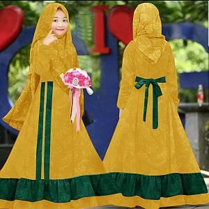 46-Nana EMBOSS kids mustard