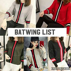 1). Restock !!! sL-Rajut Batwing