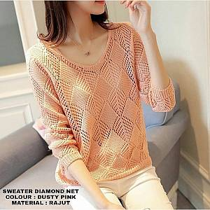 Rajut Diamond DustyPink