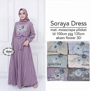 Soraya Dress Plum