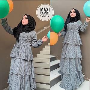 TK1 Maxi Polkadot Grey
