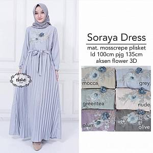 Soraya Dress Grey