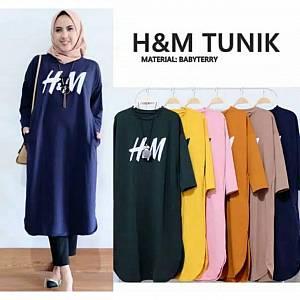 H&M Tunik Navy