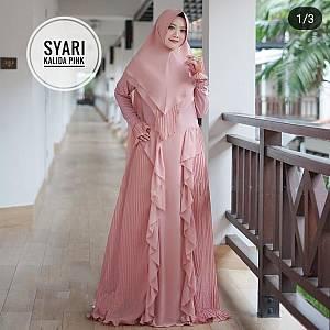 TK1 Syari Kalida Pink