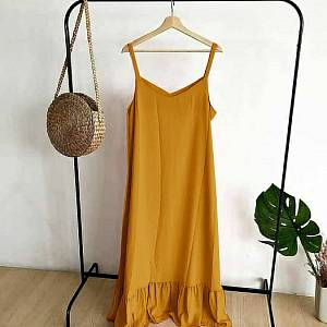MG LOLY Overall Mustard