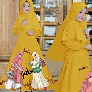 46-Hijabers kids mustard