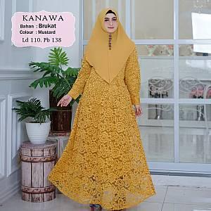 1). Tk Syar i Brukat Kanawa Mustard