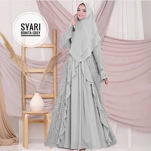 TK1 Syari Bonita Grey