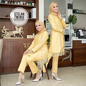TK1 Setelan Mustard Twinie
