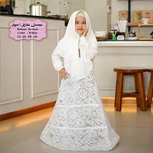 Tk Syar i Kids Lavena White