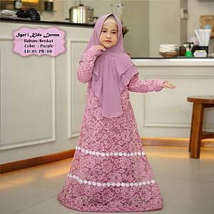 Tk Syar i Kids Lavena Purple