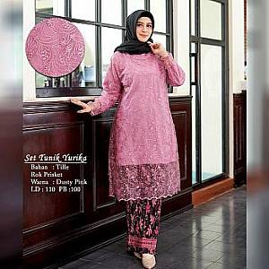 Tk Set Tunik Yurika Dusty Pink