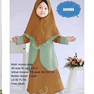 BA - 07 Meisya Kids Brown