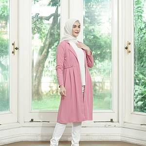 sL-Zara Kimmy Long Cardi(Real Pict) Pink