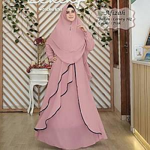 Tk Syar i Ceruty Afizah Pink
