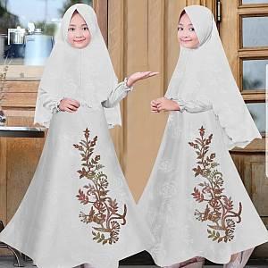 46-Bunga Mbos kids putih