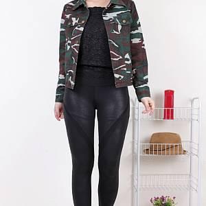 sL- Millitary Jacket Sleting Hijau