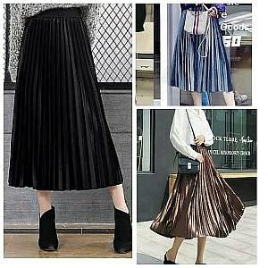 C2 velvey skirt