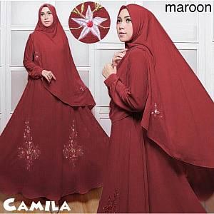 46-Camila Maroon